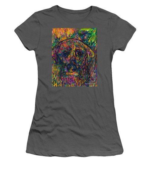 Winnie The Dog Women's T-Shirt (Athletic Fit)