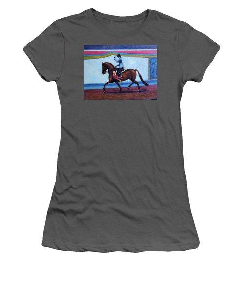 Winning Salute Women's T-Shirt (Athletic Fit)