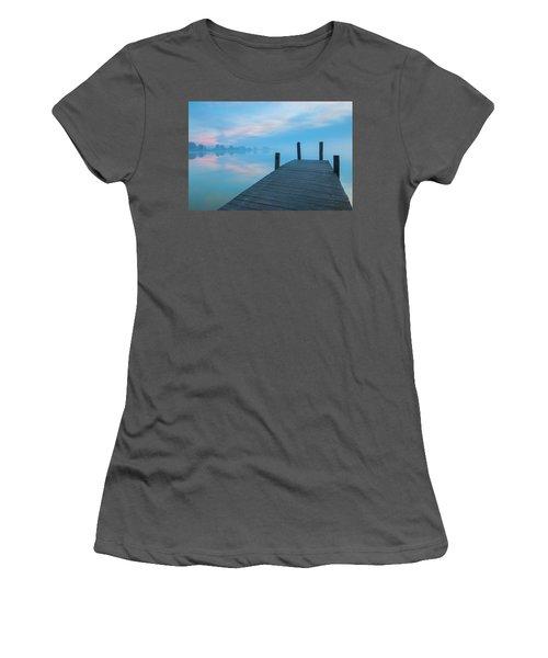 Winter Blues Women's T-Shirt (Athletic Fit)