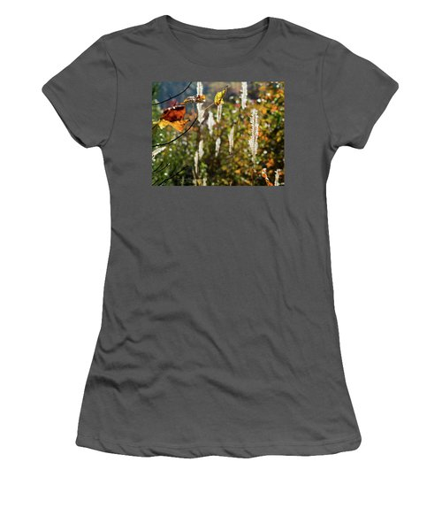 Winter Color Women's T-Shirt (Junior Cut) by George Randy Bass