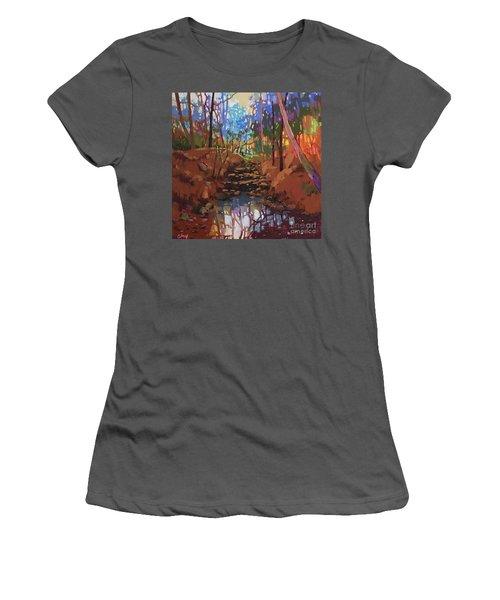 Winter Dawn Women's T-Shirt (Athletic Fit)