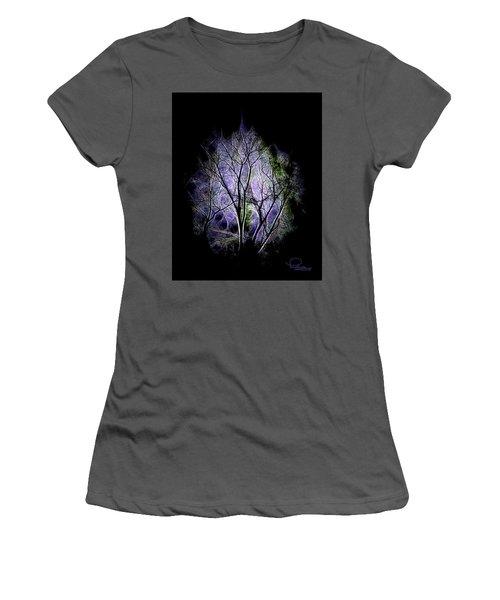 Winter Dream Women's T-Shirt (Junior Cut) by Ludwig Keck