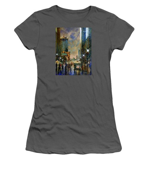 Winter Festival Evening Women's T-Shirt (Athletic Fit)