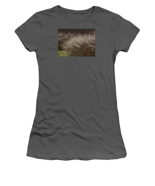 Winter Grass Women's T-Shirt (Athletic Fit)