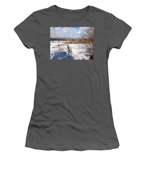 Winter Hike Women's T-Shirt (Athletic Fit)