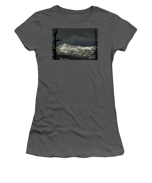 Winter In North Cascades Women's T-Shirt (Athletic Fit)