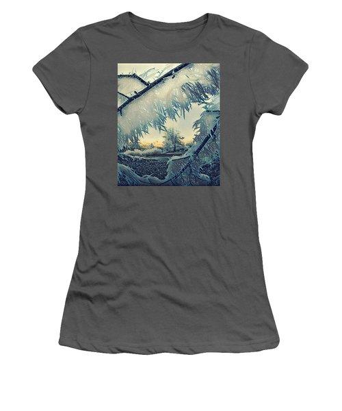 Winter Magic Women's T-Shirt (Junior Cut) by Colette V Hera Guggenheim