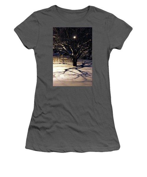 Winter Romace Women's T-Shirt (Junior Cut) by Samantha Thome