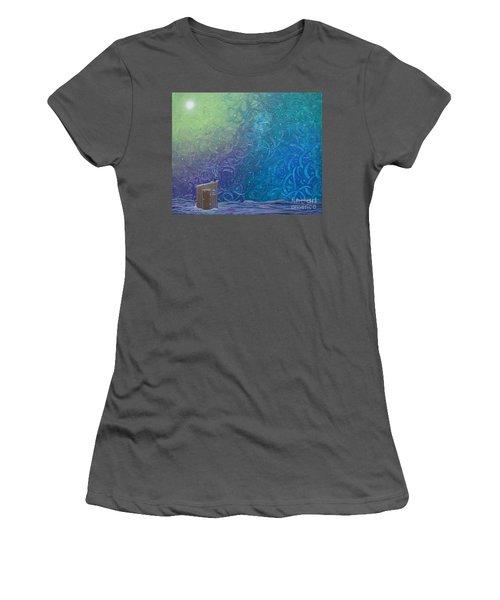 Winter Solitude 2 Women's T-Shirt (Athletic Fit)