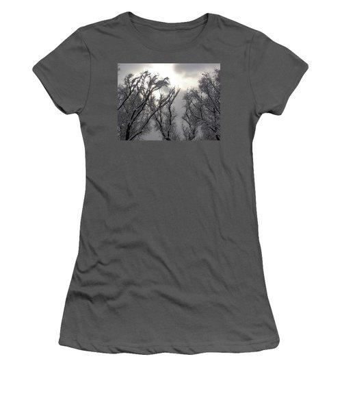 Winter Solstice Utah Women's T-Shirt (Athletic Fit)