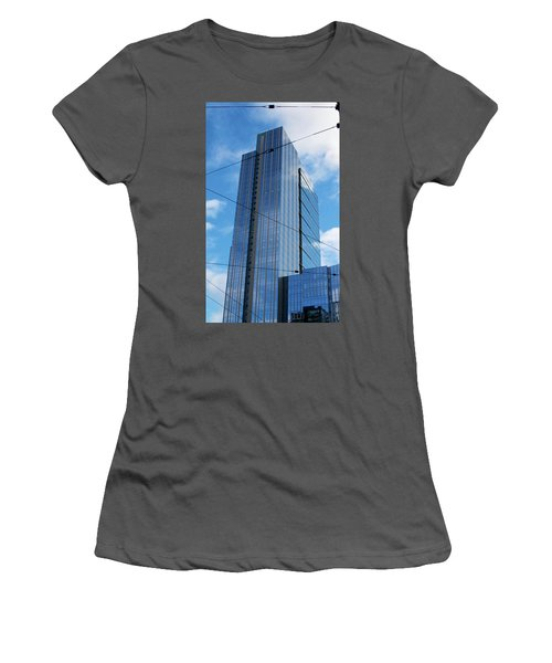 Wired In Seattle - Skyscraper Art Print Women's T-Shirt (Athletic Fit)