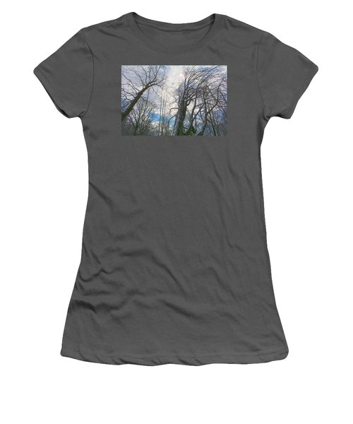 Wisdom Of The Trees Women's T-Shirt (Junior Cut) by Angelo Marcialis