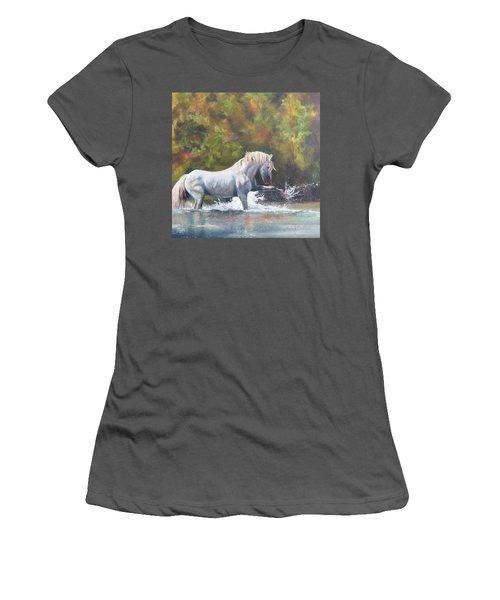 Wisdom Of The Wild Women's T-Shirt (Athletic Fit)