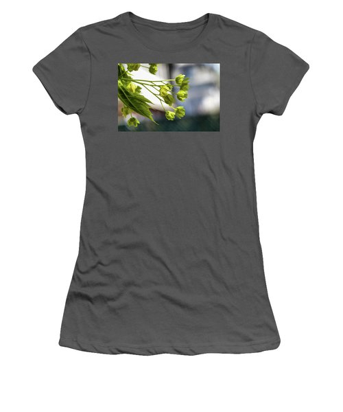 With The Breeze - Women's T-Shirt (Athletic Fit)