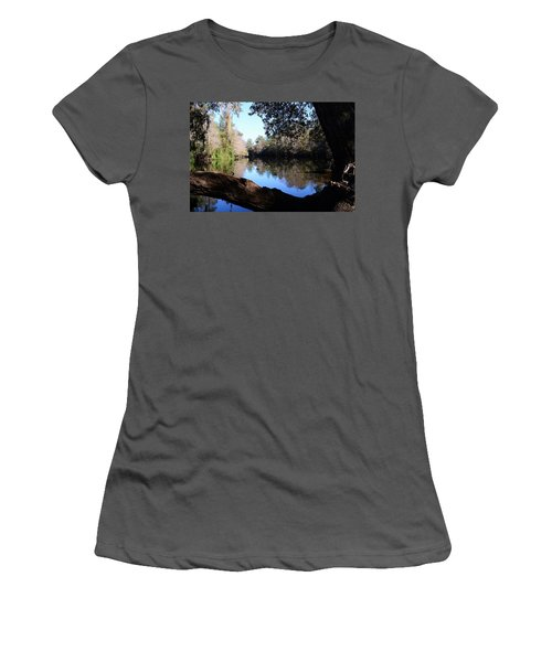 Withlacoochee Overlook Women's T-Shirt (Athletic Fit)