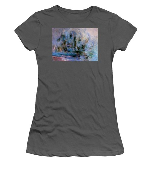 Wood Art  Lost In Time Women's T-Shirt (Athletic Fit)
