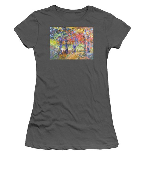 Woodland Walk Women's T-Shirt (Athletic Fit)