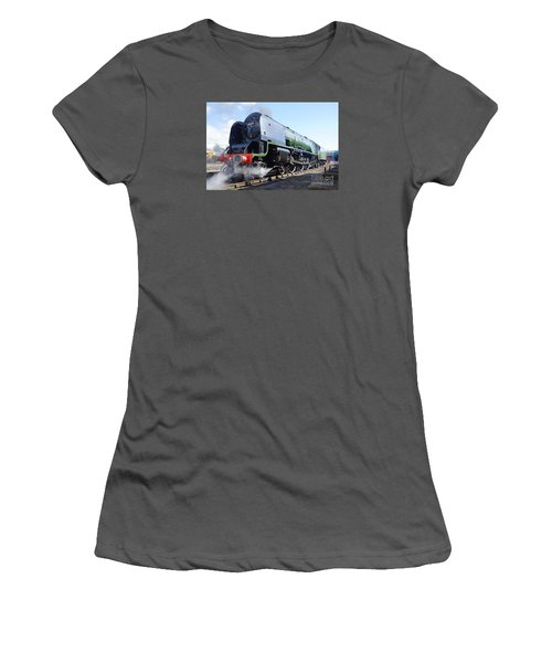 Worm's Eye View Women's T-Shirt (Athletic Fit)