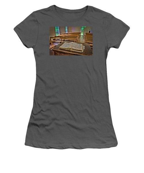 Worn  Women's T-Shirt (Athletic Fit)