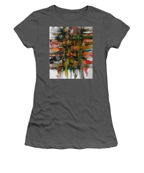Woven Women's T-Shirt (Junior Cut) by Alika Kumar
