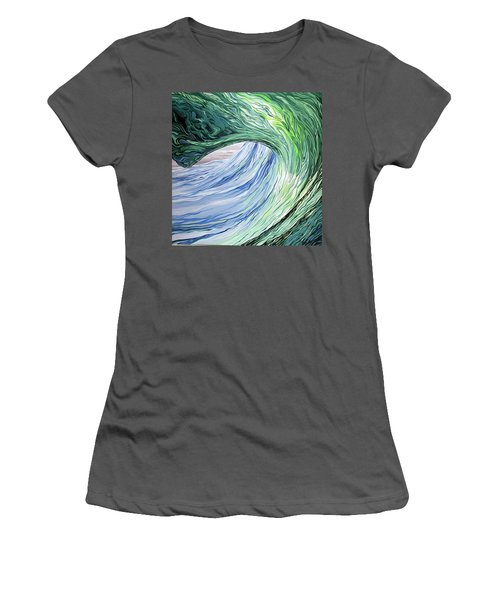 Wrap Around Women's T-Shirt (Athletic Fit)
