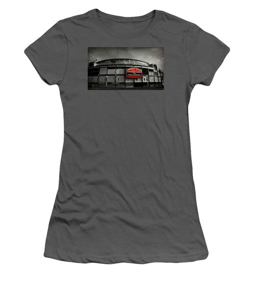 Wrigley Field Women's T-Shirt (Athletic Fit)