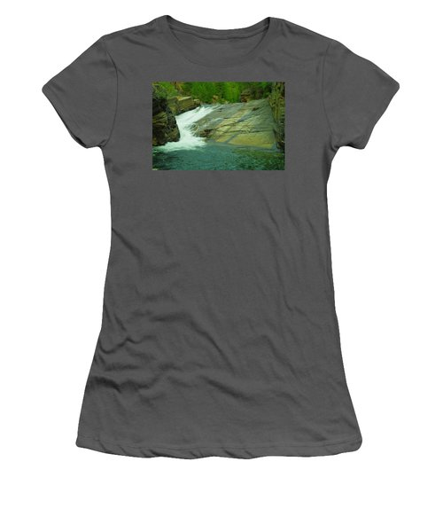 Yak Falls   Women's T-Shirt (Athletic Fit)