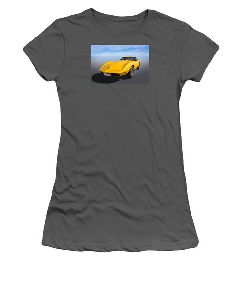 Women's T-Shirt (Junior Cut) featuring the photograph Yellow by Keith Hawley