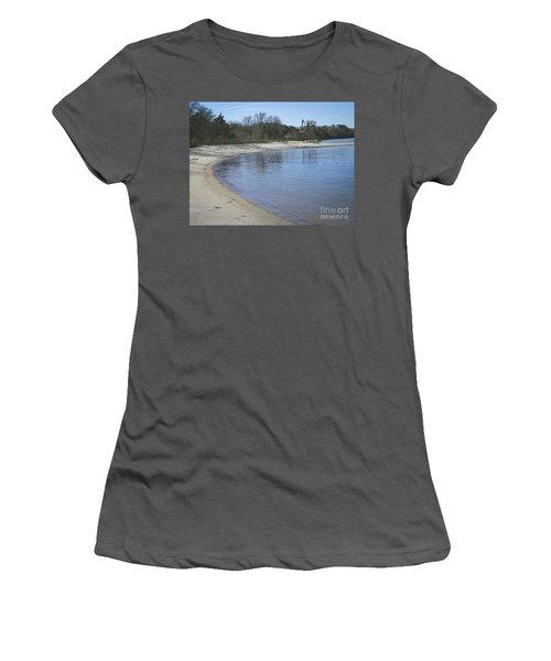 York River Women's T-Shirt (Junior Cut) by Melissa Messick