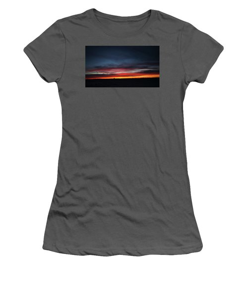 Yorkton Sunrise Women's T-Shirt (Junior Cut) by Ryan Crouse