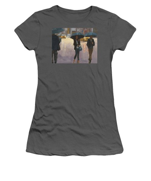 You And I And The Rain Women's T-Shirt (Athletic Fit)