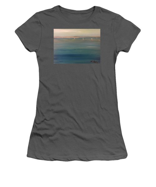 You Are But A Mist Women's T-Shirt (Athletic Fit)