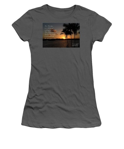 Your Yesterdays And Todays Women's T-Shirt (Junior Cut) by Pamela Blizzard