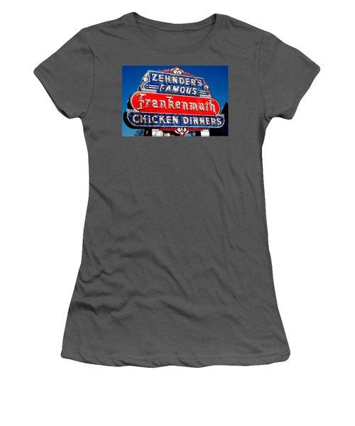 Zehnder's Frankenmuth Michigan Women's T-Shirt (Athletic Fit)