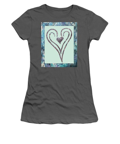 Zen Heart Sedona Labyrinth Women's T-Shirt (Athletic Fit)