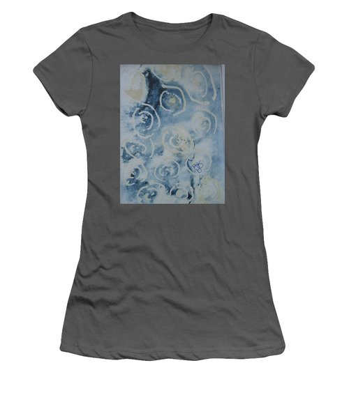 Blue Spirals Women's T-Shirt (Athletic Fit)