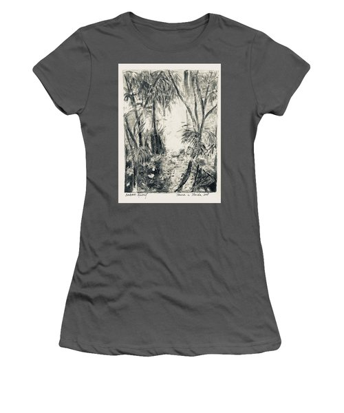 Florida Fauna 2 Women's T-Shirt (Athletic Fit)
