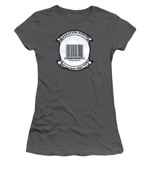 Operation Nonya Women's T-Shirt (Athletic Fit)