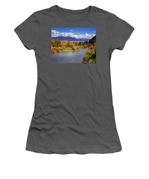 Swan Valley Autumn Women's T-Shirt (Athletic Fit)