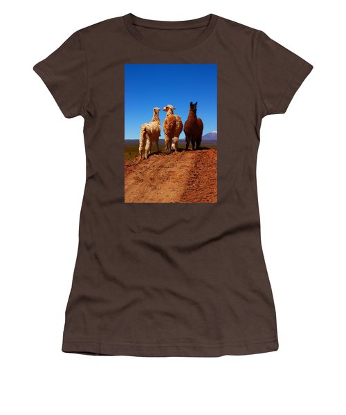 3 Amigos Women's T-Shirt (Junior Cut) by FireFlux Studios