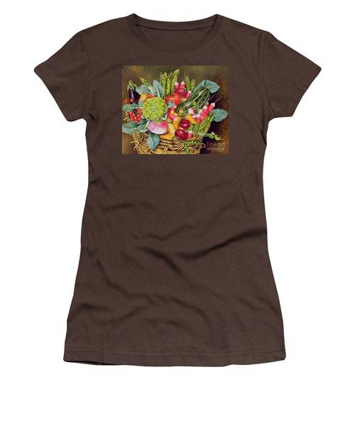 Summer Vegetables Women's T-Shirt (Junior Cut) by EB Watts