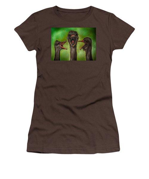 The 3 Tenors Edit 2 Women's T-Shirt (Junior Cut) by Leah Saulnier The Painting Maniac