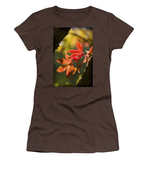 Women's T-Shirt (Junior Cut) featuring the photograph In Between... by Clare Bambers