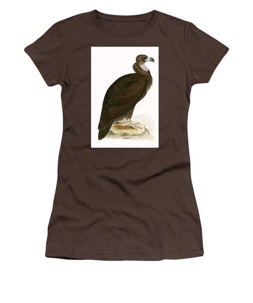 Cinereous Vulture Women's T-Shirt (Junior Cut) by English School
