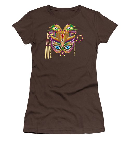 Cleopatra Viii For Any Color Products But No Prints Women's T-Shirt (Junior Cut) by Bill Campitelle