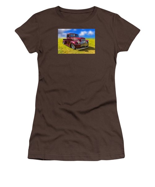 Women's T-Shirt (Junior Cut) featuring the photograph Dream Truck by Keith Hawley