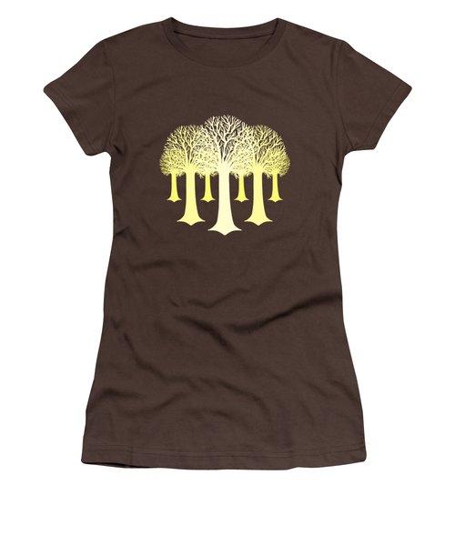 Electricitrees Women's T-Shirt (Junior Cut) by Freshinkstain