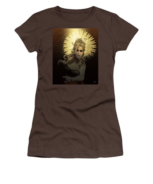 Gorgon Medusa Women's T-Shirt (Junior Cut) by Joaquin Abella