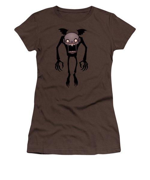 Nosferatu Women's T-Shirt (Junior Cut) by John Schwegel