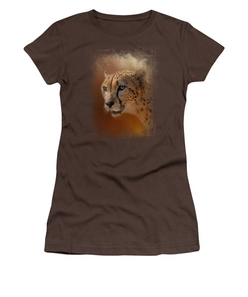 One With The Sun Women's T-Shirt (Junior Cut) by Jai Johnson